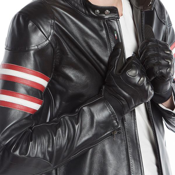 Dainese72 RAPIDA72 leather jacket Black