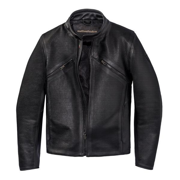Dainese72 PRIMA72 perforated leather jacket Black