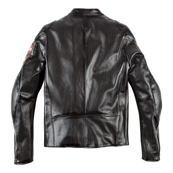 Dainese72 RAPIDA72 perforated leather jacket Black