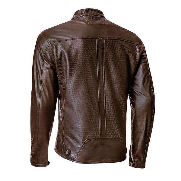Ixon CRANK AIR summer leather jacket Brown