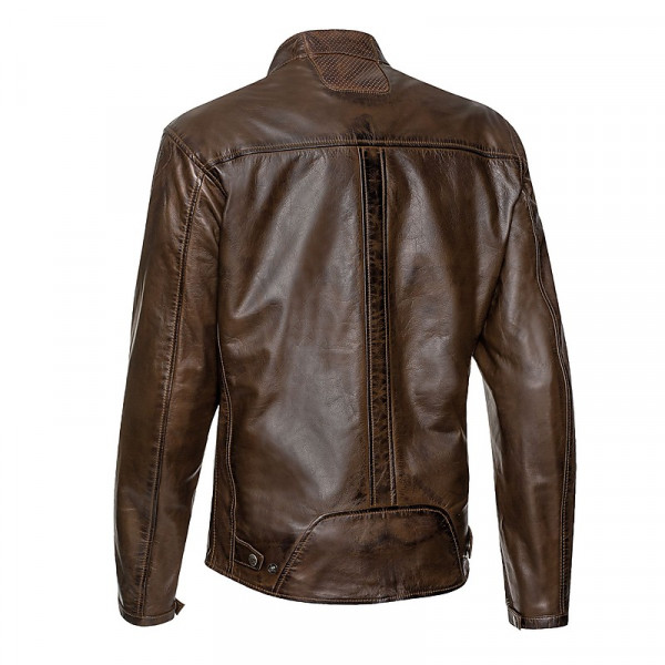 Ixon CRANK leather jacket Brown