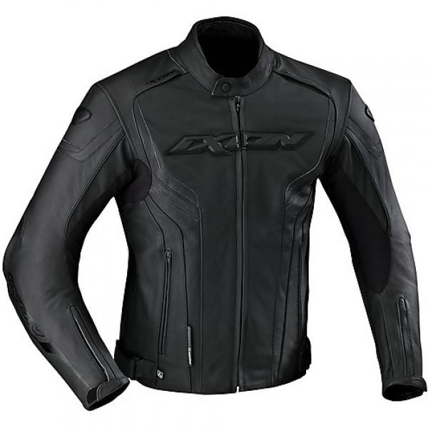Ixon Stunter leather jacket Black