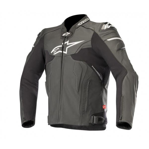 Alpinestars CELER V2 leather motorcycle jacket black