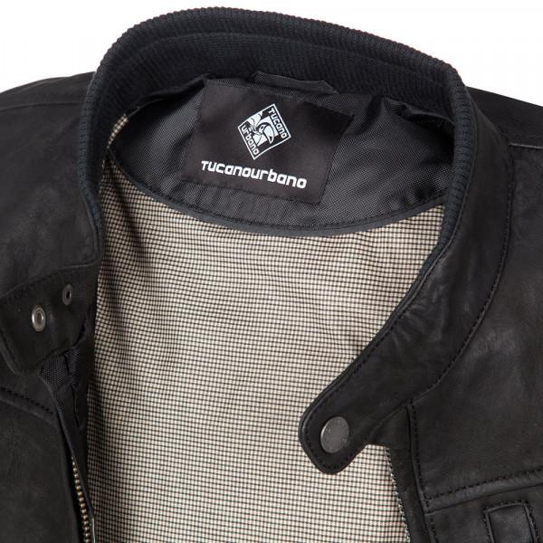 Tucano Urbano Bred motorcycle jacket black