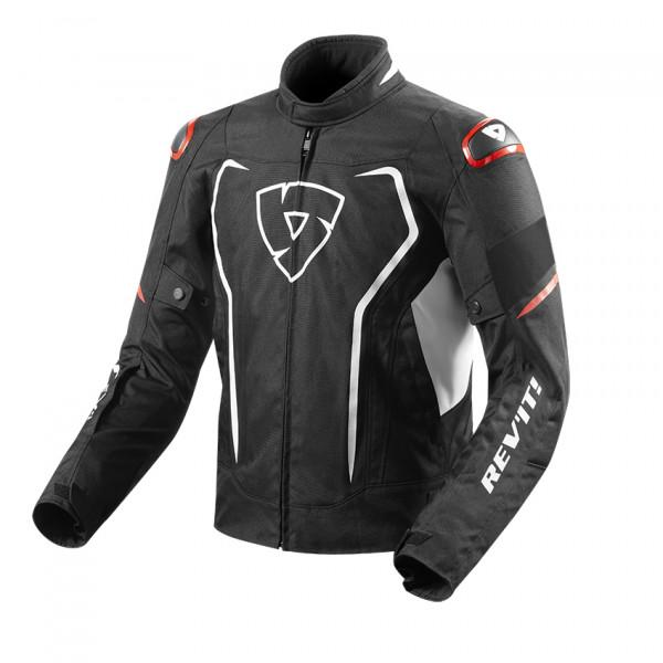 Rev'it Vertx H2O jacket White Red
