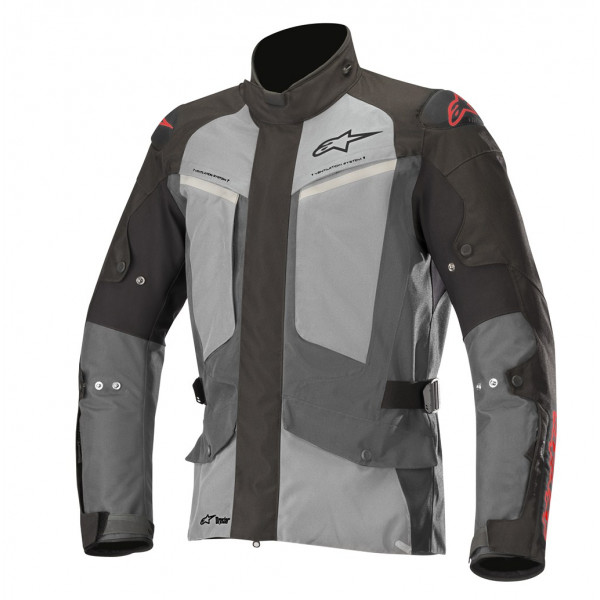 Alpinestars MIRAGE DS jacket black dark gray light gray