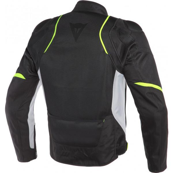 Dainese AIR MASTER summer jacket black glacier gray fluo yellow