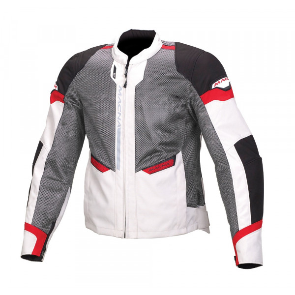 Macna touring summer jacket Event black grey red