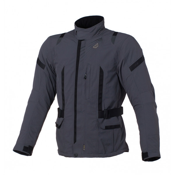Macna touring jacket Essential RL WP dark grey