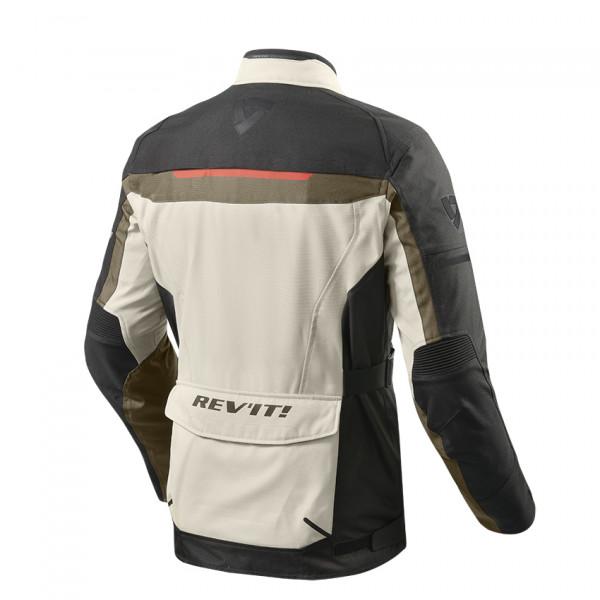 Rev'it Safari 3 touring jacket Black Sand Black