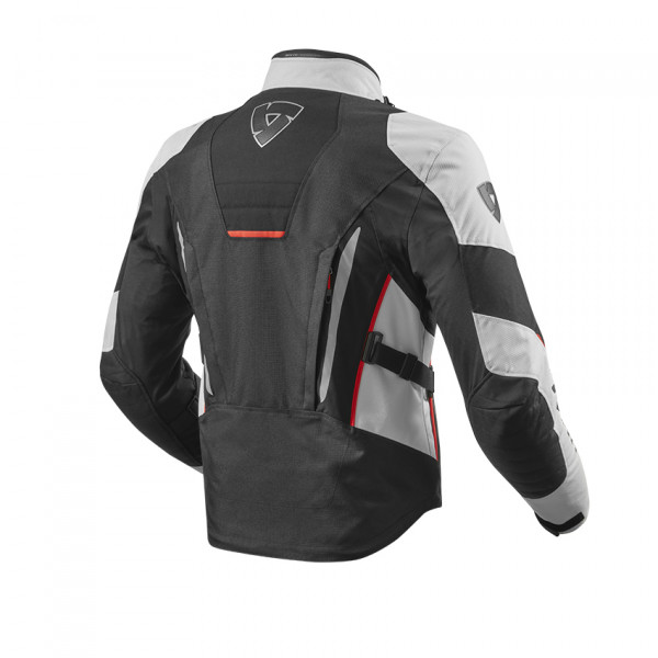 Rev'it Vapor 2 touring jacket Silver Black