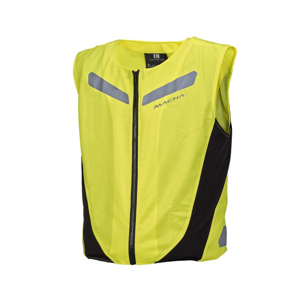 Macna high visibility vest Vision 4 All Element fluo yellow