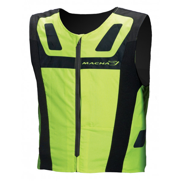 Macna high visibility vest Vision 4 All Plus fluo yellow