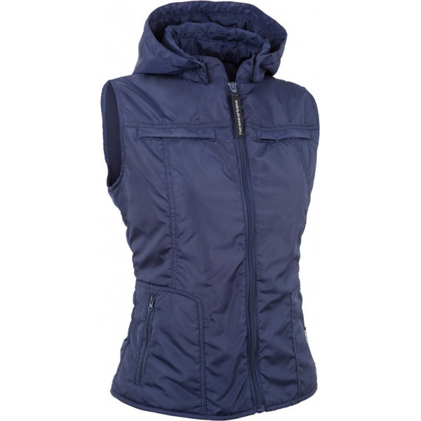 Tucano Urbano woman padded gilet Lady Cap blue