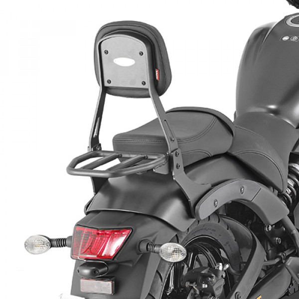 Givi TS4115B backrest with luggage rack for Kawasaki