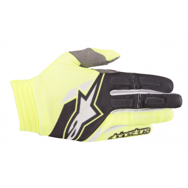 Alpinestars cross gloves Aviator fluo yellow black