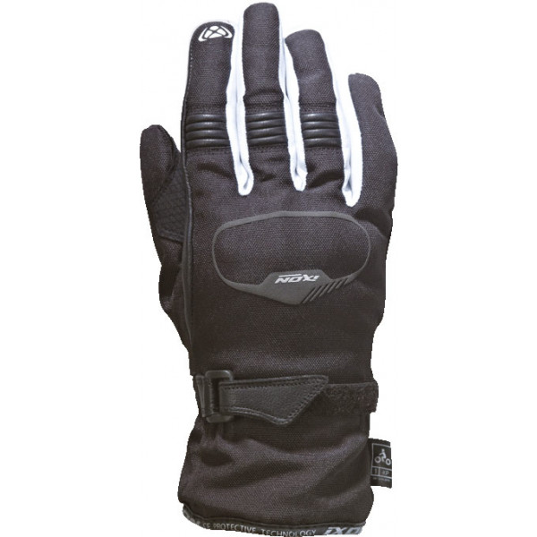 Ixon PRO RUSH KID motorcycle gloves black white