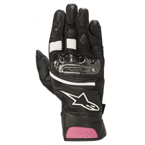 Alpinestars STELLA SP-2 V2 motorcycle lady gloves black fuchsia