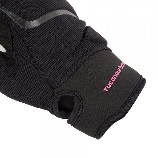 Tucano Urbano Miky Lady motorcycle gloves black