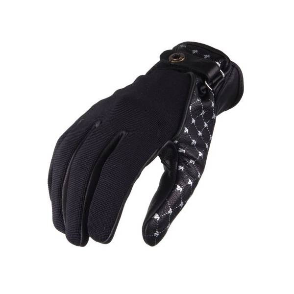 VQuattro ROMA woman summer motorcycle gloves Black