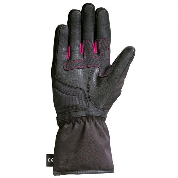 Ixon PRO ARROW LADY woman gloves winter black fuxia