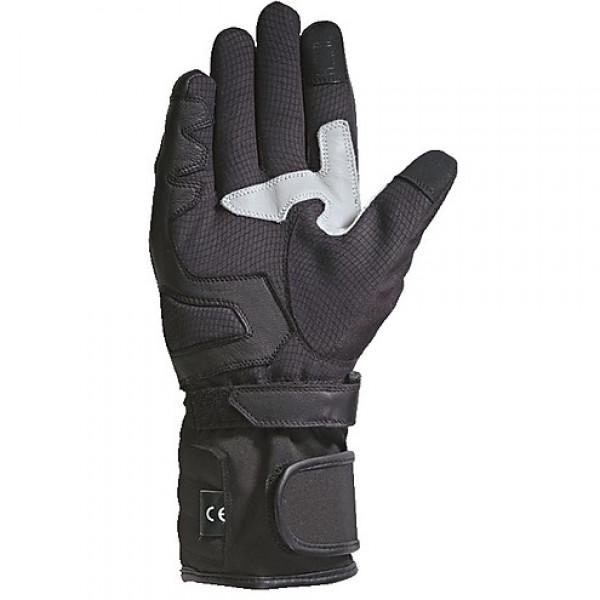 Ixon PRO TENERE LADY winter woman gloves black silver