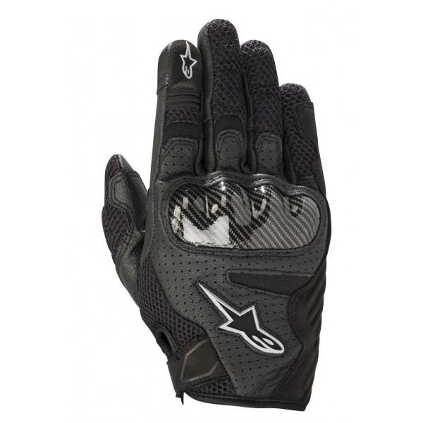 Alpinestars STELLA SMX-1 AIR V2 lady leather summer gloves black