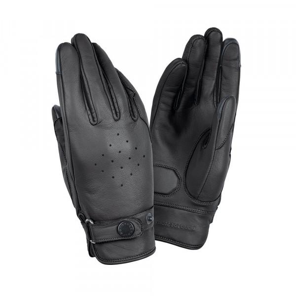 Tucano Urbano BOB SKIN LADY woman leather summer gloves black