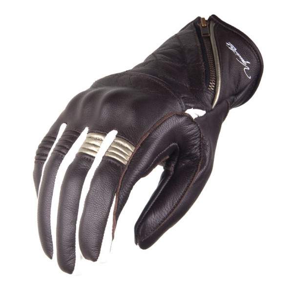 VQuattro MURANO woman summer leather motorcycle gloves Brown
