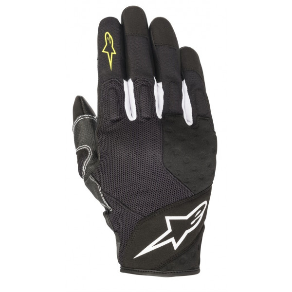 Alpinestars KINETIC summer gloves black yellow fluo