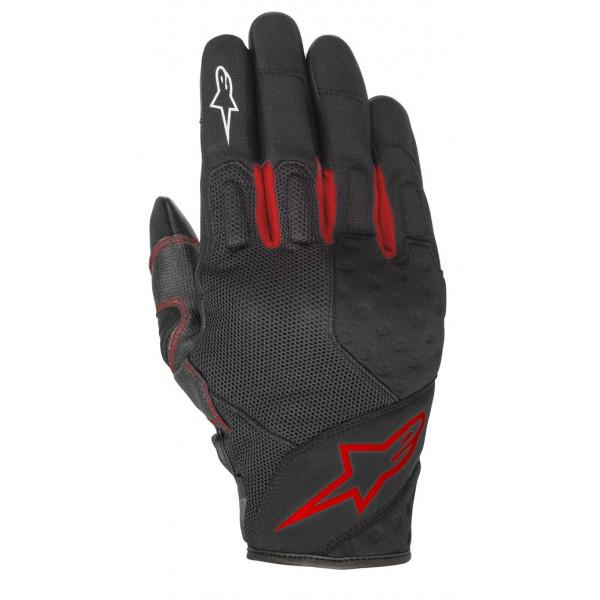 Alpinestars KINETIC summer gloves black red