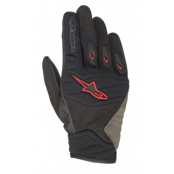 Alpinestars SHORE summer gloves black red