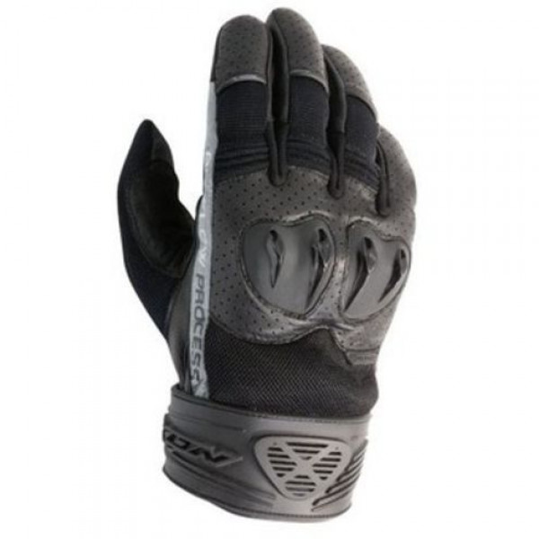 Ixon RS Flip HP Summer motorcycle Gloves Black With Guards