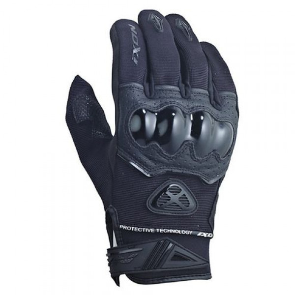 Ixon Rs Scud HP summer motorcycle Gloves Black