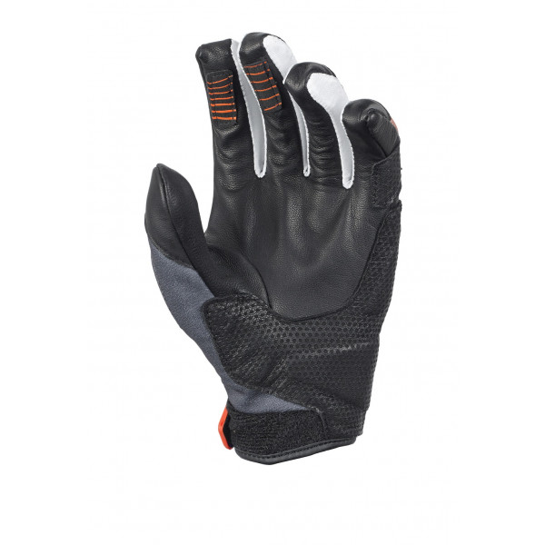 Macna summer gloves Osiris black orange white