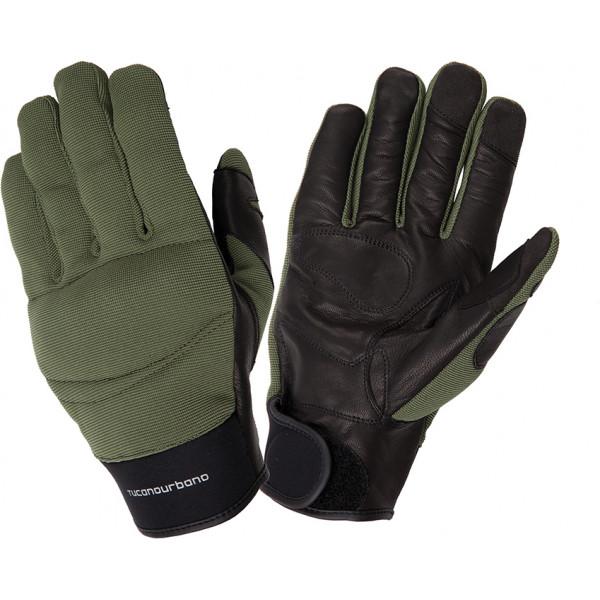 Tucano Urbano Calamaro-Ce green military gloves