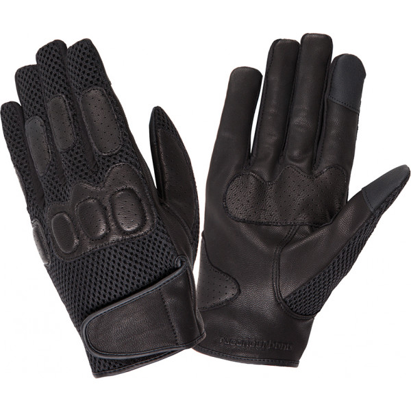 Tucano Urbano Aero Touch black summer gloves