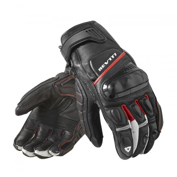 Rev'it Chicane leather summer gloves Black Red