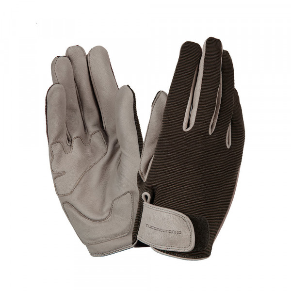 Tucano Urbano Adamo summer gloves grey Black