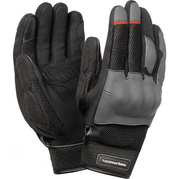 Tucano Urbano Mrk Pro grey summer gloves