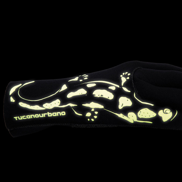 Tucano Urbano Salamander motorcycle gloves black