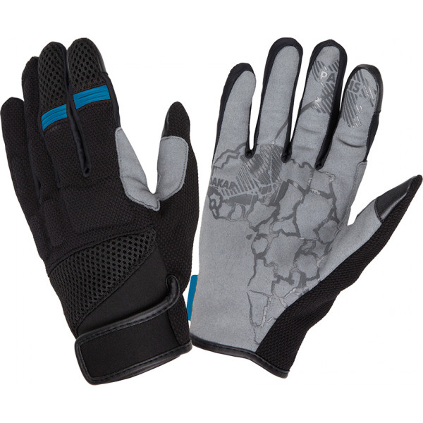 Tucano Urbano Tebu black-blue summer gloves