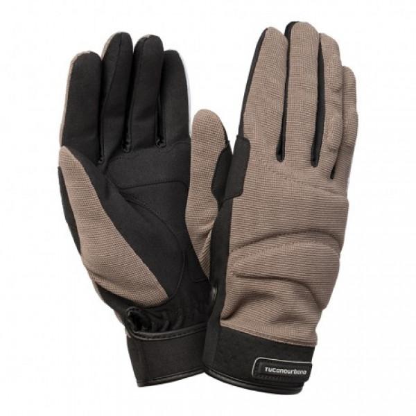 Tucano Urbano Triloba summer gloves grey black