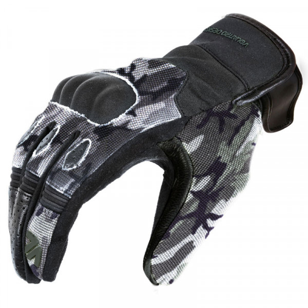 VQuattro summer motorcycle Wild gloves Camouflage Grey