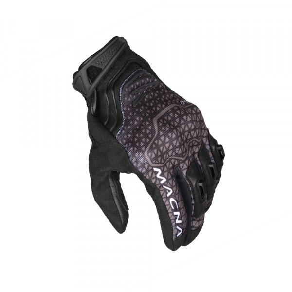 Macna leather summer gloves Assault black