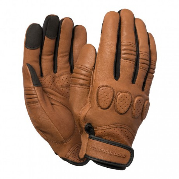 Tucano Urbano GIG leather summer gloves brown