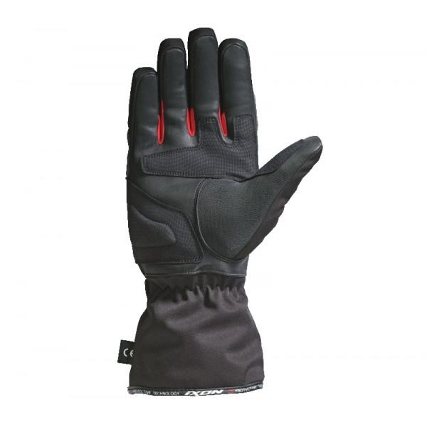 Ixon PRO ARROW winter gloves black red
