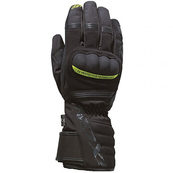 Ixon PRO TENERE winter gloves black yellow