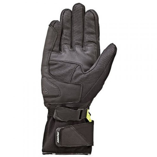 Ixon Pro Blaze HP Winter motorcycle Leather Gloves Black Yellow