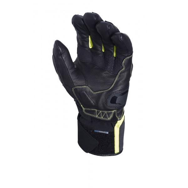 Macna gloves Fugitive RTX black fluo yellow